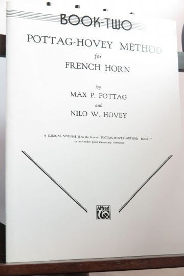 Pottag P & Hovey N W - Pottag-Hovey Method for French Horn Book 2
